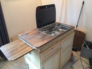 Wohnmobil-Küchenblock selber bauen | Super Idee | Pinterest