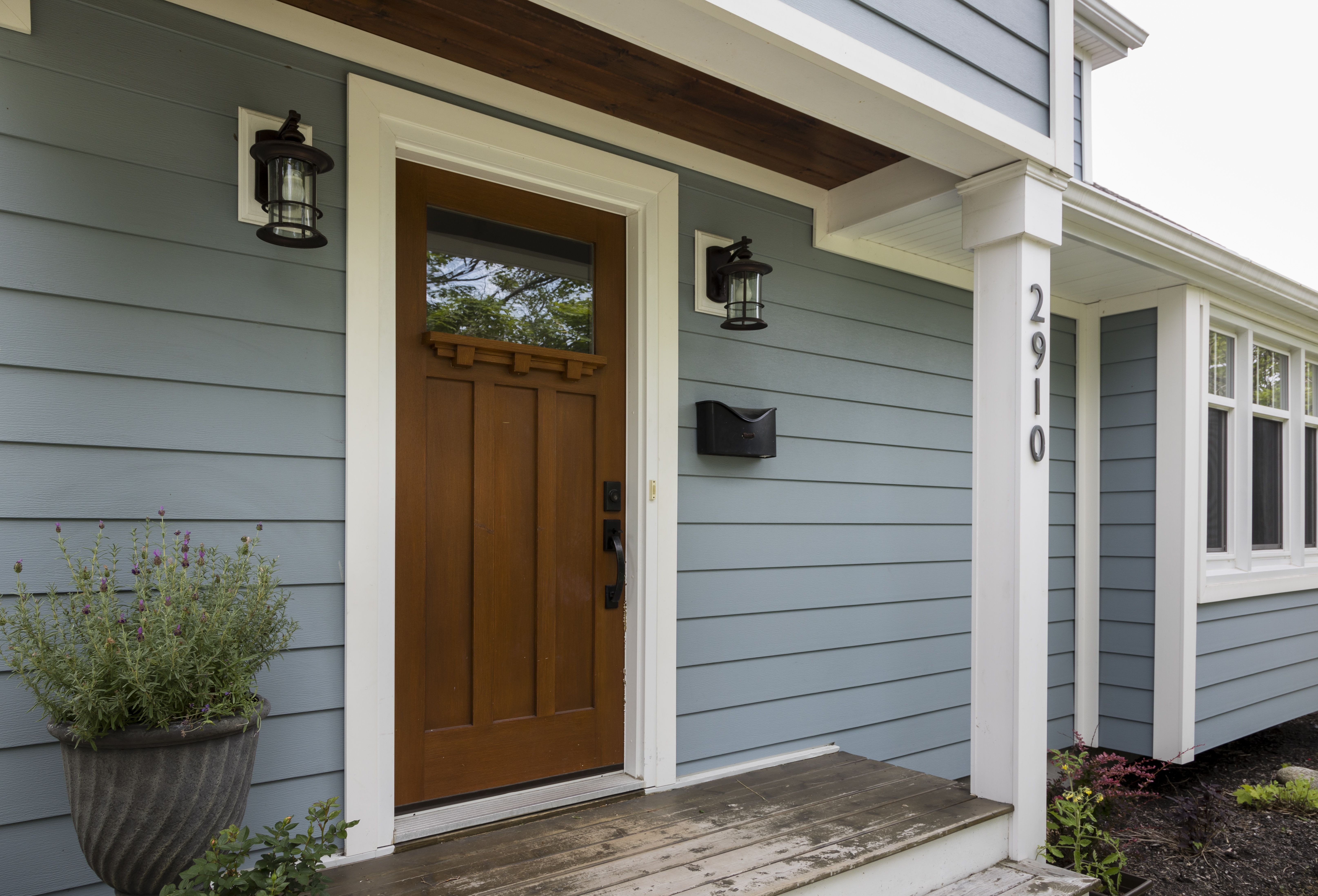 Celect 7 Clapboard Siding In Oceana House Paint Exterior Exterior Paint Colors For House Exterior House Colors