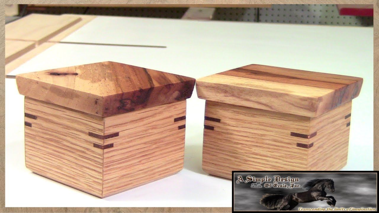 How To Make A Wooden Jewelry Box Entrancing Make A Simple Lift Lid Box Part 1  Wood Projects  Pinterest  Box Inspiration