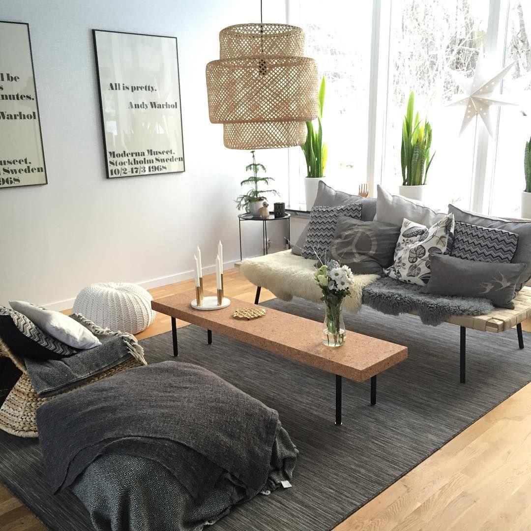 Vardagsrum #vardagsrum #interior #sinnerlig #dagbädd #livingroom ...