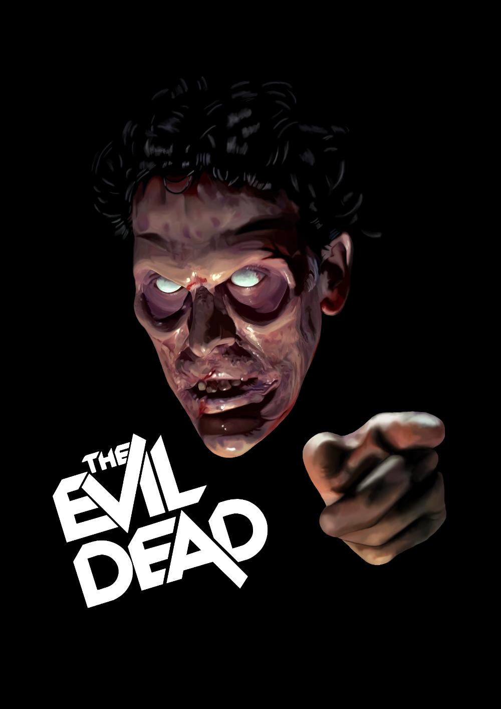 The Evil Dead By Dreffdesigns On Deviantart Horror Movie Art Movie Poster Art Evil