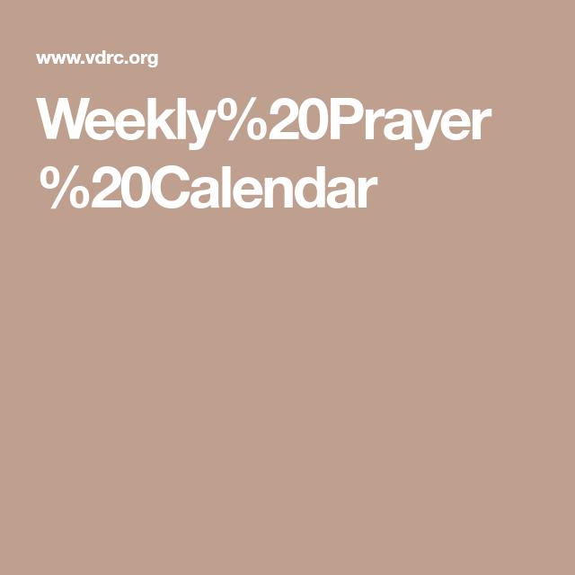 Weekly 20prayer 20calendar War Room Lockscreen Week