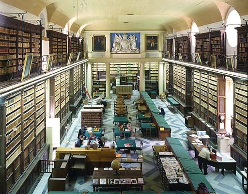 The National Library of Malta, Valetta Bibliotecas do mundo - library page