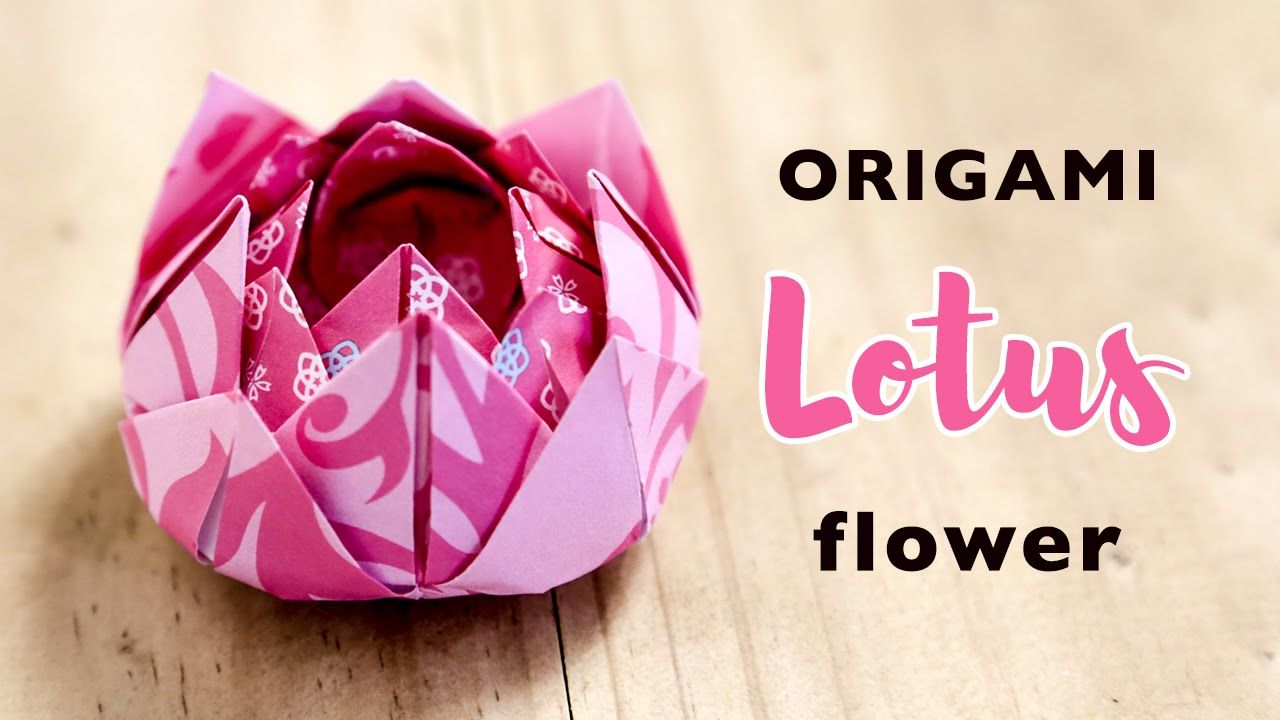 Easy origami lotus flower tutorial instructions diy easy origami lotus flower tutorial instructions mightylinksfo