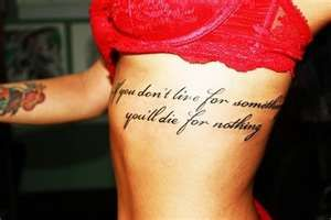 tattoos on ribs=my favoriteeee want it