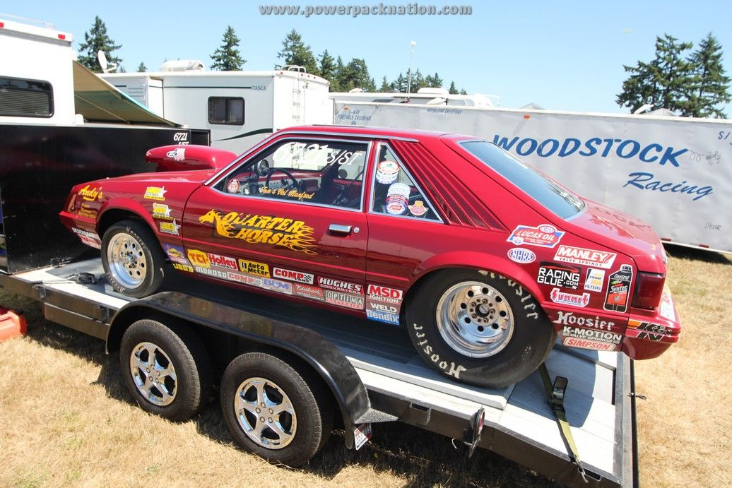 Fox Body Mustang Drag Car- Seattle