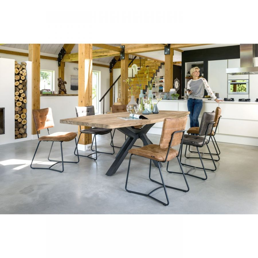 Table 150 130 H77 Belot Com 749 Eetkamerstoelen Tafel Eethoek