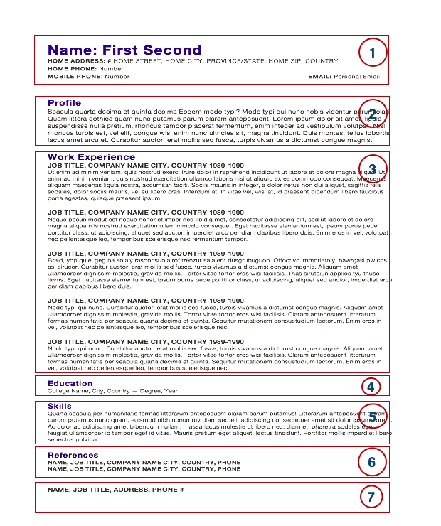 Professional Resume Cover Letter Sample | Chef Resume | Free