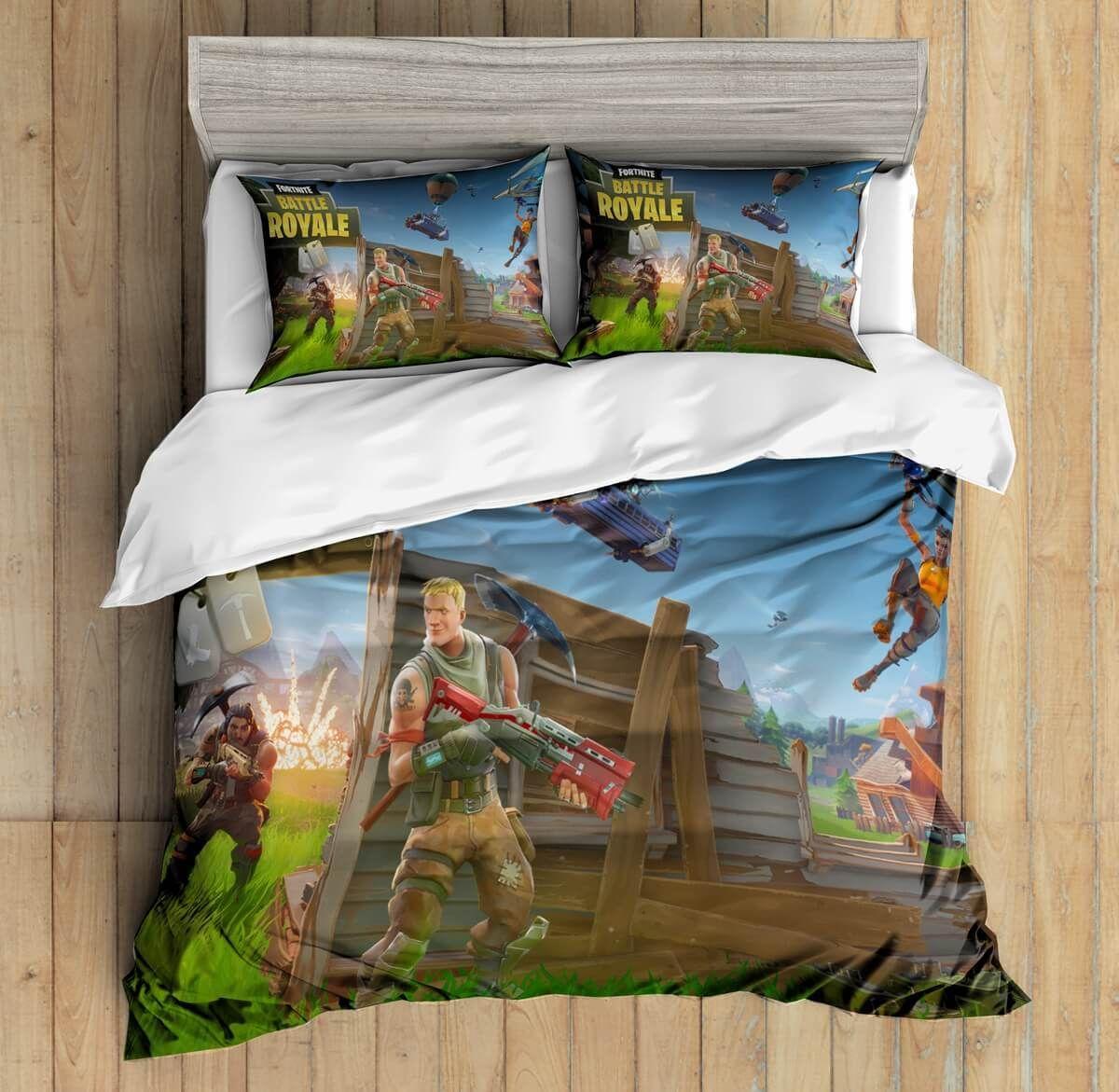 19D Custom Fortnite19 Bedding Set Duvet Cover Set Bedroom Set