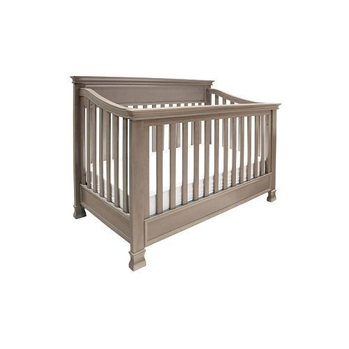 Million Dollar Baby Classic Foothill 4-in-1 Convertible Crib, Brown