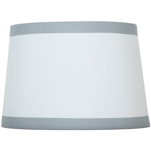 "Silver Lamp Shades Interesting Style Selections 9"" X 13"" Offwhite Drum Lamp Shade  Lowes  Ours Design Ideas"