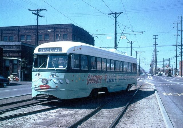 Crying Trolley Special In Vernon Los Angeles Ca History Huntington Park