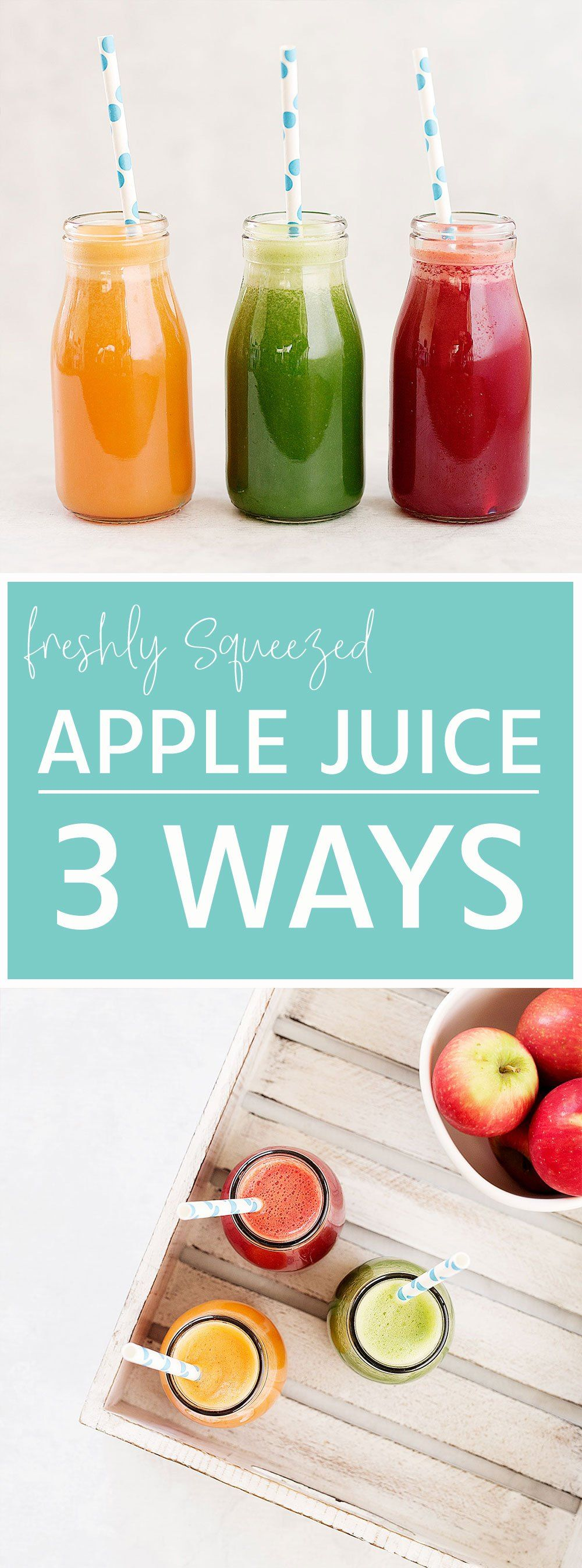 Freshly Squeezed Apple Juice 3 Ways Kids Eat by Shanai