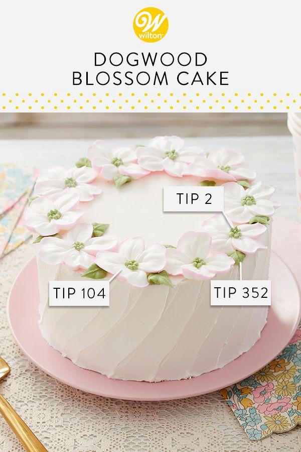 Dogwood Blossom Cake