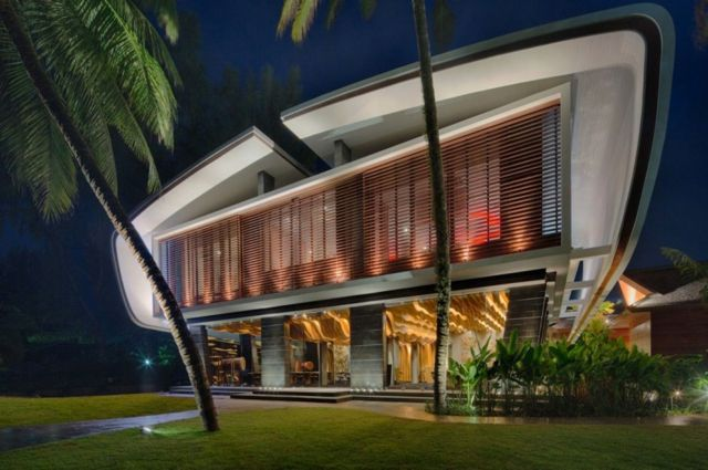 Iniala Luxus Villa am Strand von A-cero   Innendesign