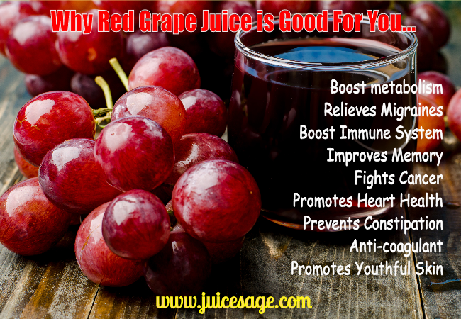 Red Grape Juice Health Benefits Sure It S Not Wine But The