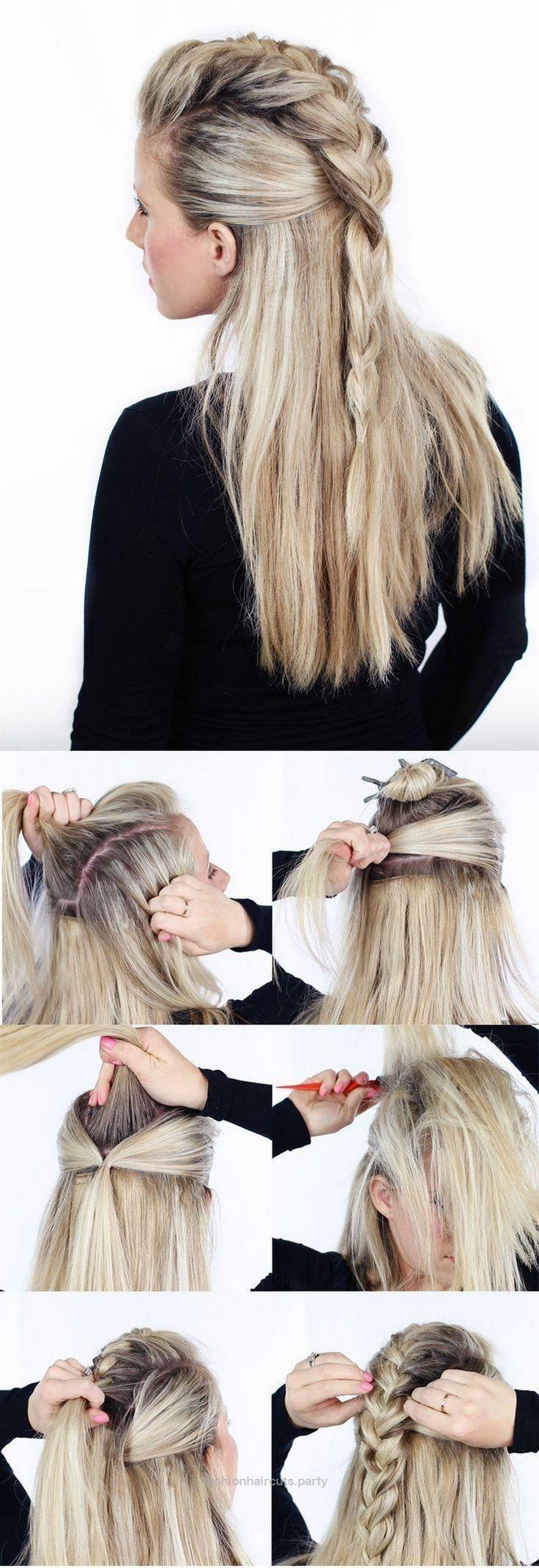 cute easy summer hairstyles for long hair femalineuu