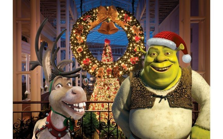 Shrek The Halls Shrek Holiday Movie Christmas