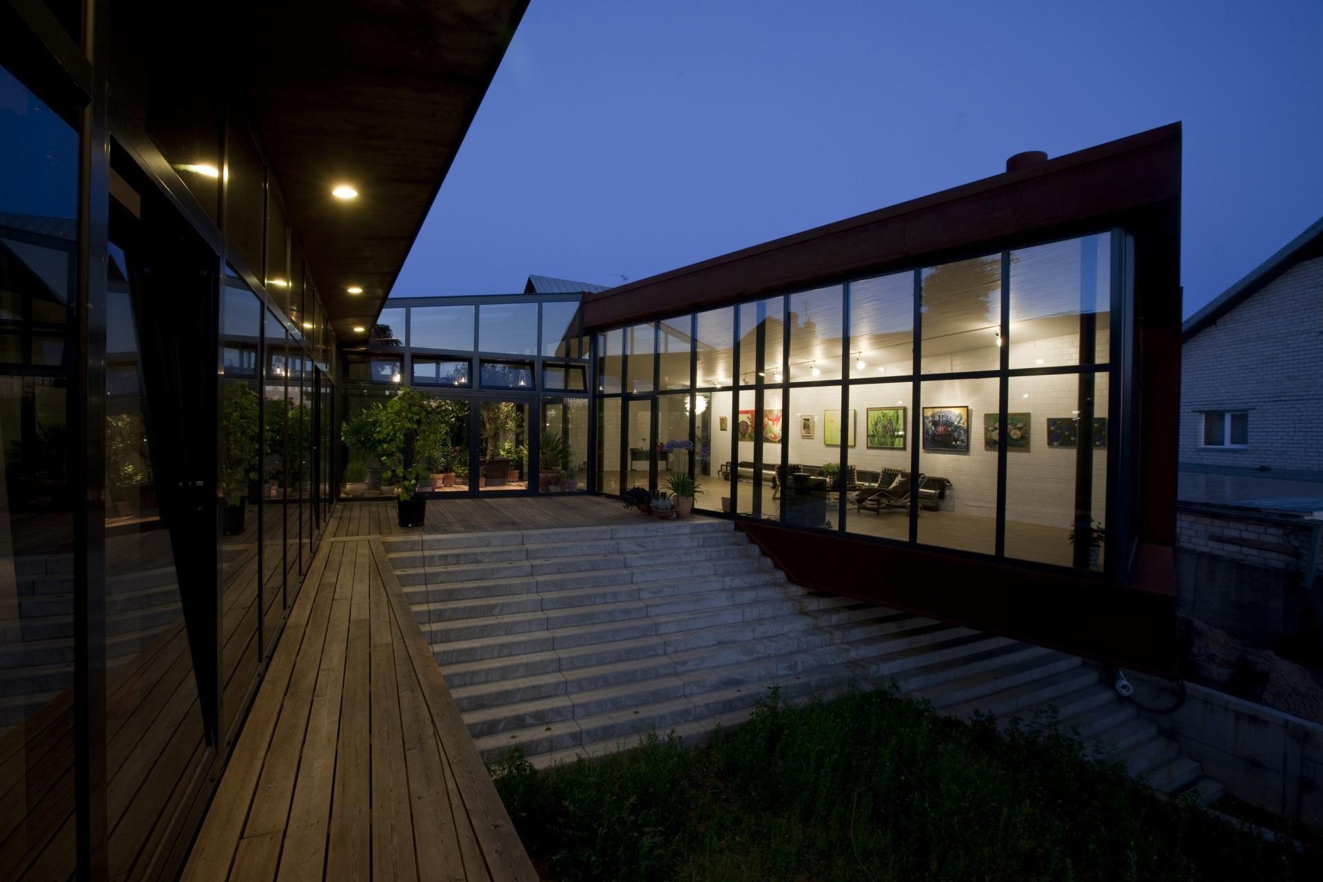 FAMILY HOUSE IN BRAŠKIŲ STREET  by Architektu biuras G.Natkevicius ir partneriai