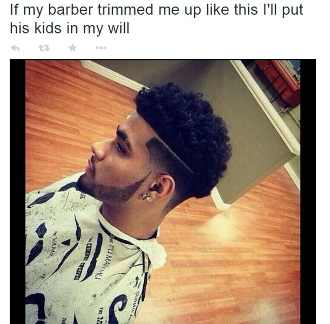 The Best Of The Barber What You Want Meme Hair Styles Mens Hairstyles Short Long Hair Styles Men