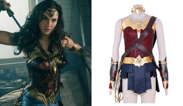 Gal Gadot Wonderwoman Costume From Wonder Woman Movie Justice