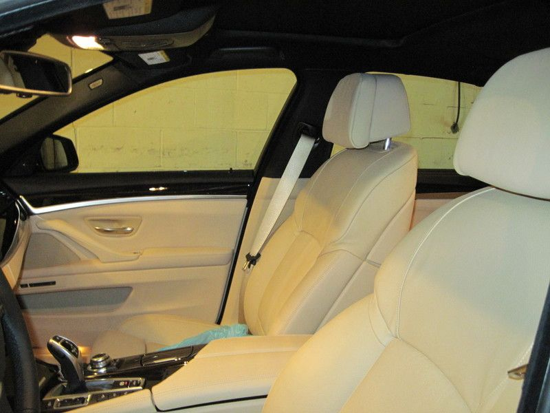 Black and beige duotone from a bmw car seats beige black