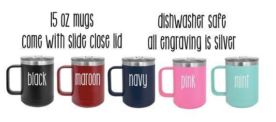 Coffee Tumbler, Personalized Coffee Mug, Travel Mug, Engraved Tumbler, Personalized Teacher Gift, Custom Gift #disneycups