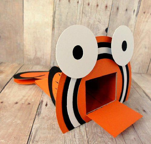 Download to buy SVG Clown Fish Treat Box make excellent party game ...