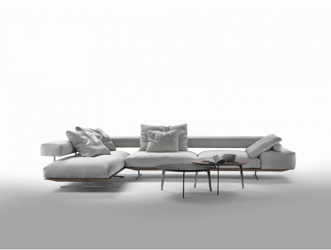 Flexform Wing bank | Van der Donk interieur | Italian design, modern ...