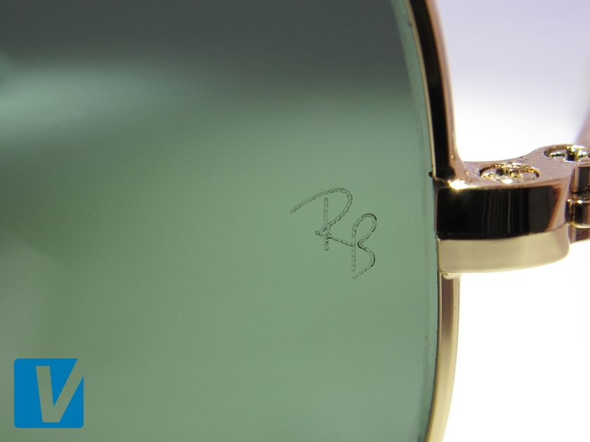 287d37e430d New Ray-Ban sunglasses have a small  RB  etched on the left lens ...