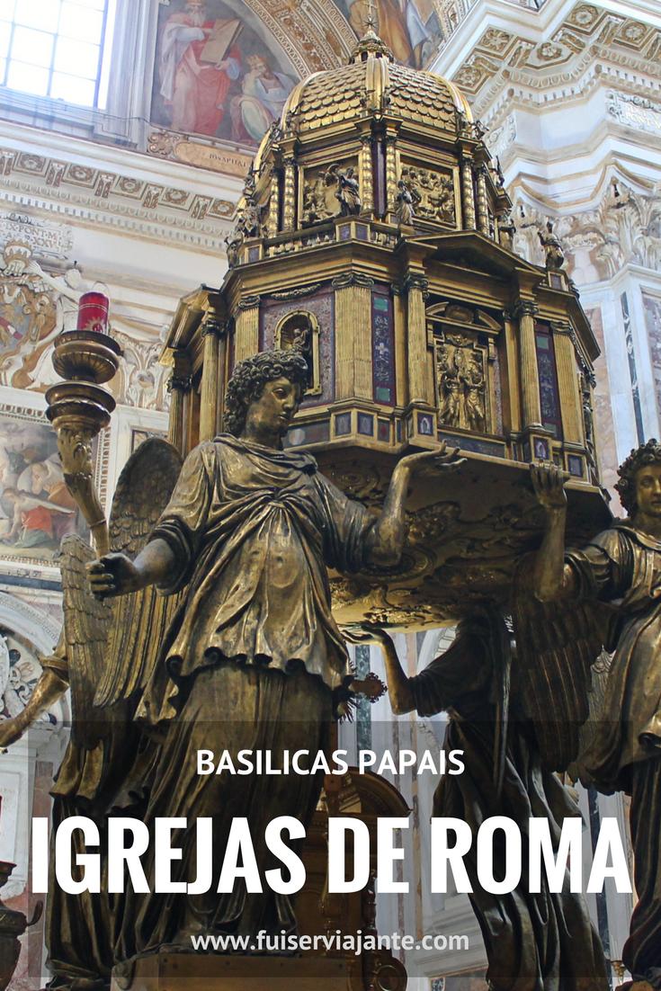 As Igrejas de Roma são atrações incríveis para quem gosta de arquitetura e arte. As basílicas maiores, ou basílicas papais, são as maiores igrejas de Roma, cheias de riqueza, beleza e muitos detalhes incríveis para conhecer. No post, falamos das basílicas papais de São João de Latrão, Santa Maria Maior, Basílica de São Pedro e São Paulo Extramuros, em Roma. Um passeio imperdível na Itália!