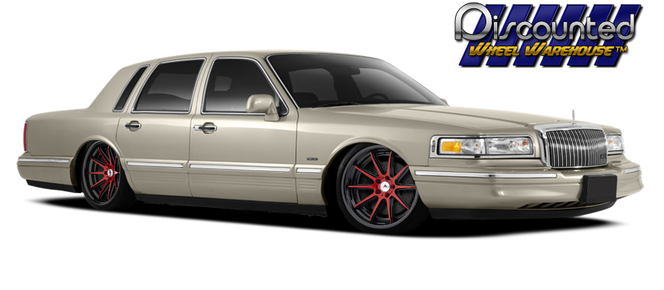 1997 Lincoln Towncar Base On 20 Adventus Avs 4 Customized Finish
