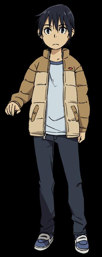 Satoru Fujinuma (young) from Erased アニメキャラクター, アニメ