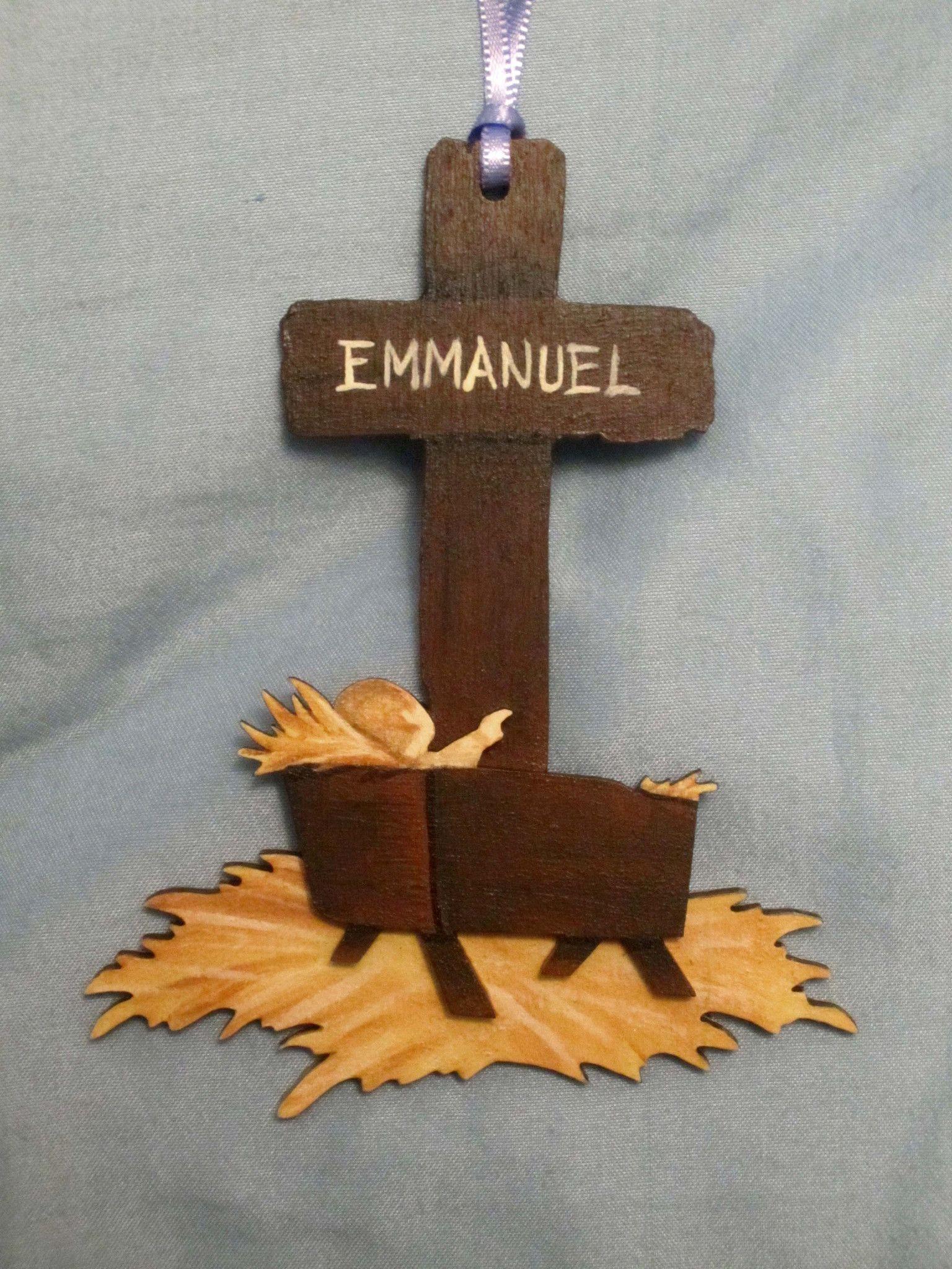 Ornament Christmas Emmanuel