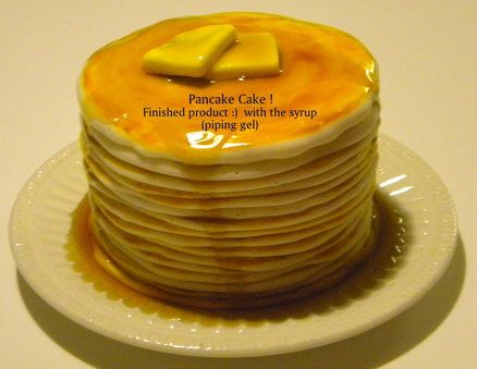 A cake that looks like a stack of pancakes See the how to tutorial