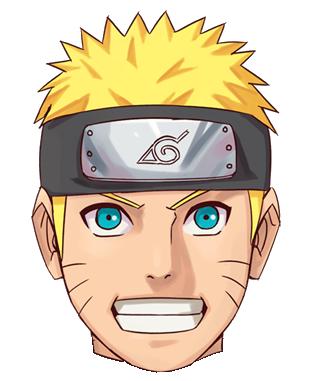 Gambar Mentahan Kepala Naruto Dan Kawan Kawan Png Anime