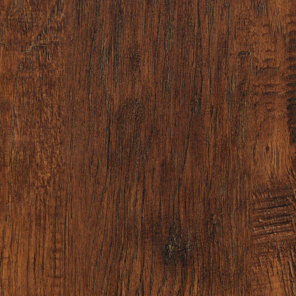 Summarize The Lovely Look And Natural Textures Of Your Floor By Adding This Trafficmaster Alameda Hickory Length Laminate Flooring