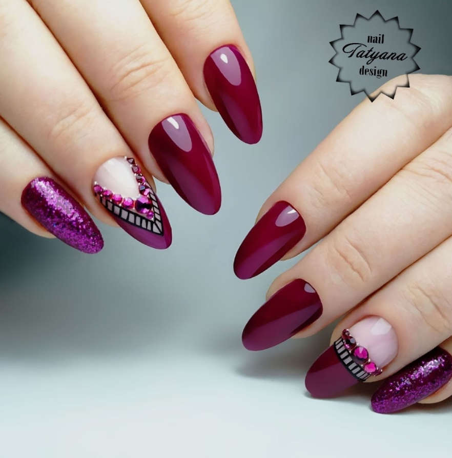 26 Spring Acrylic Nail Designs Ideas: 56 Pretty Short Acrylic Nails Ideas That Look Natural For