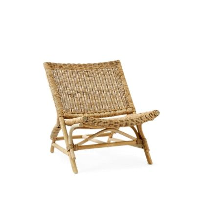 Rustic Rattan Los Angeles Lounge Chair Banken & Stoelen