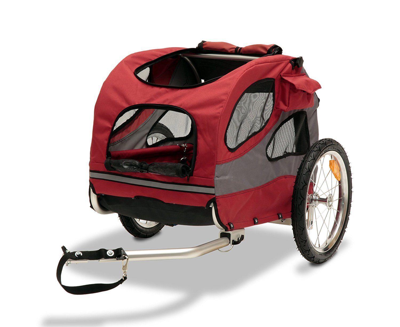 Bike baskets and trailers solvit houndabout ii pet bicycle