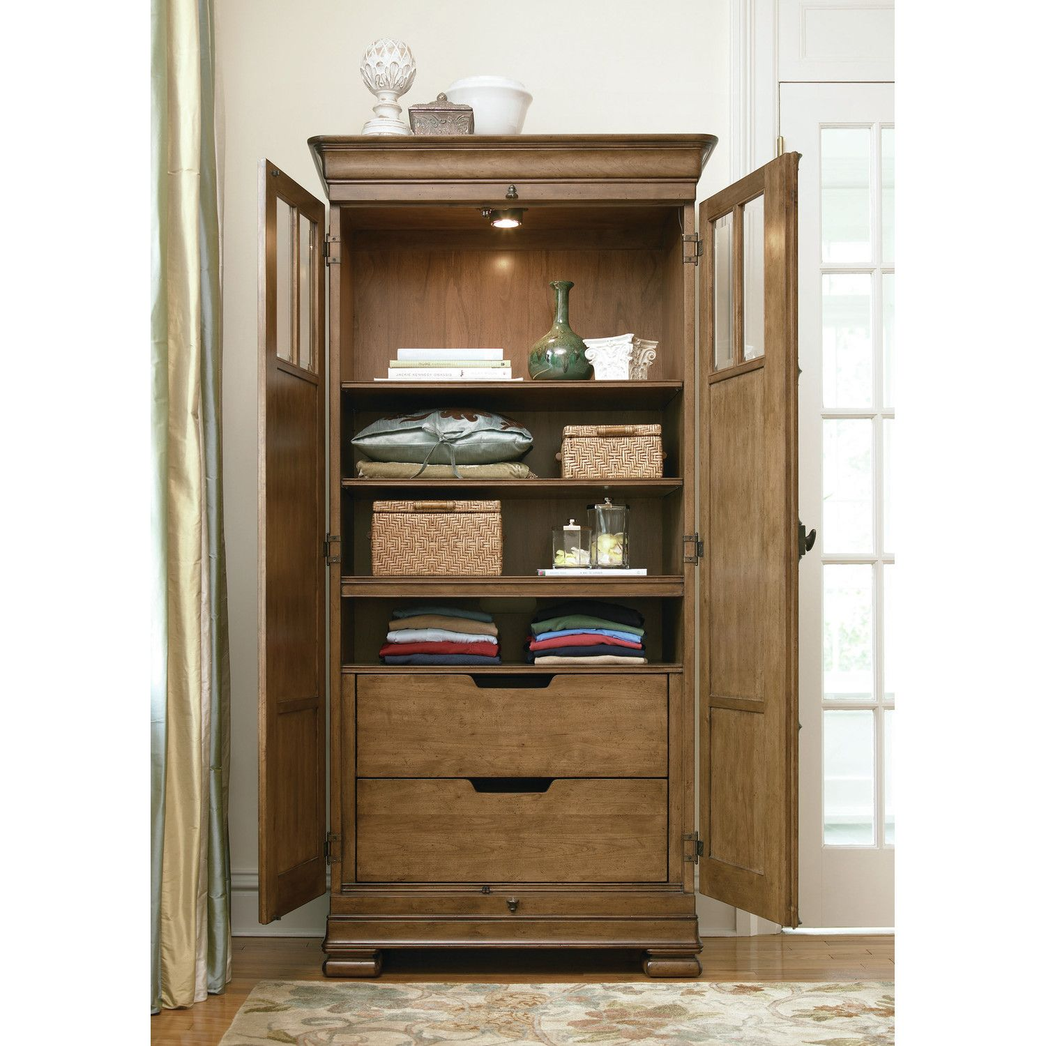 Universal Furniture New Lou 2 Door Tall Cabinet Reviews