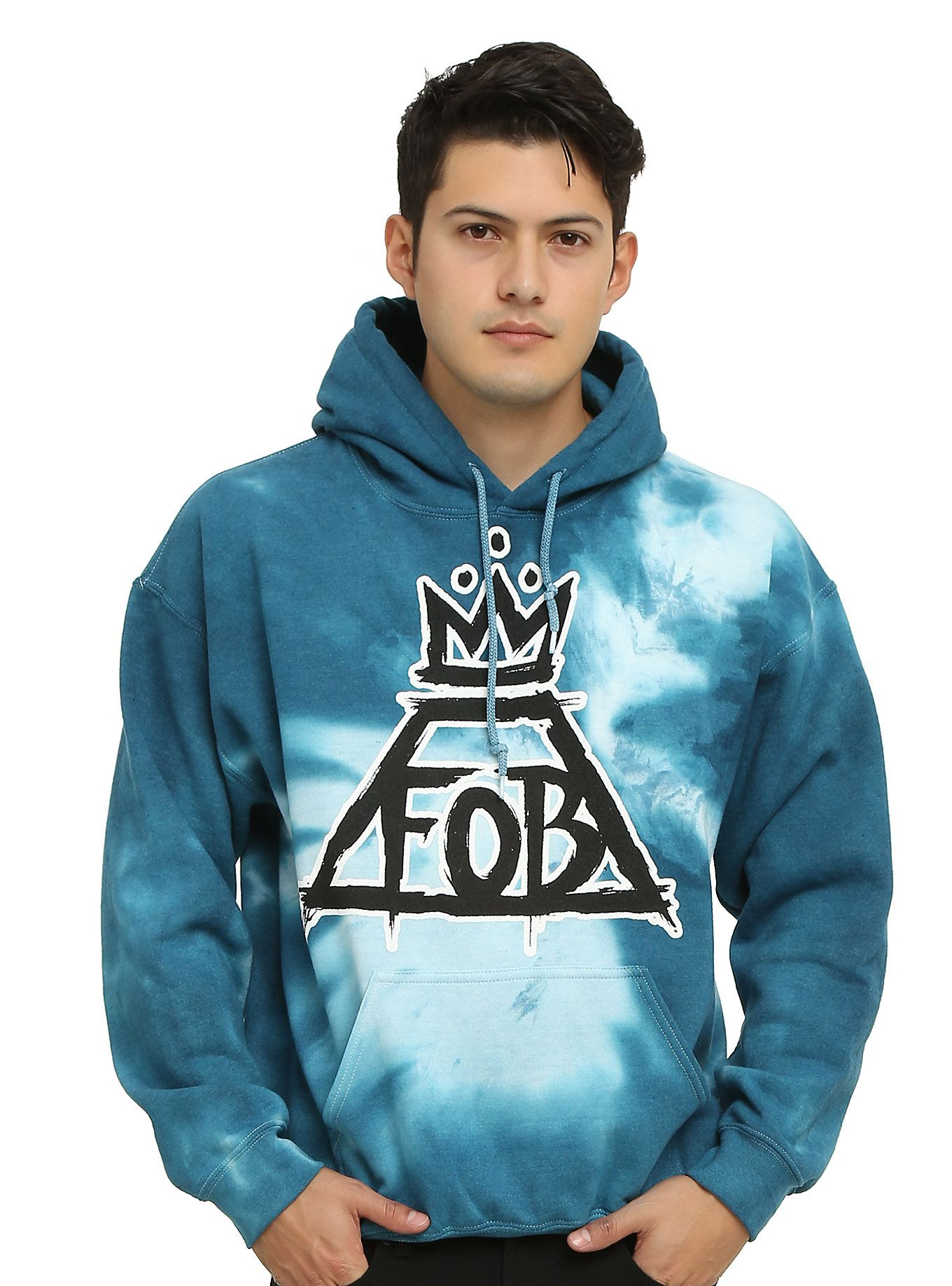 how to tie dye a hoodie with a logo