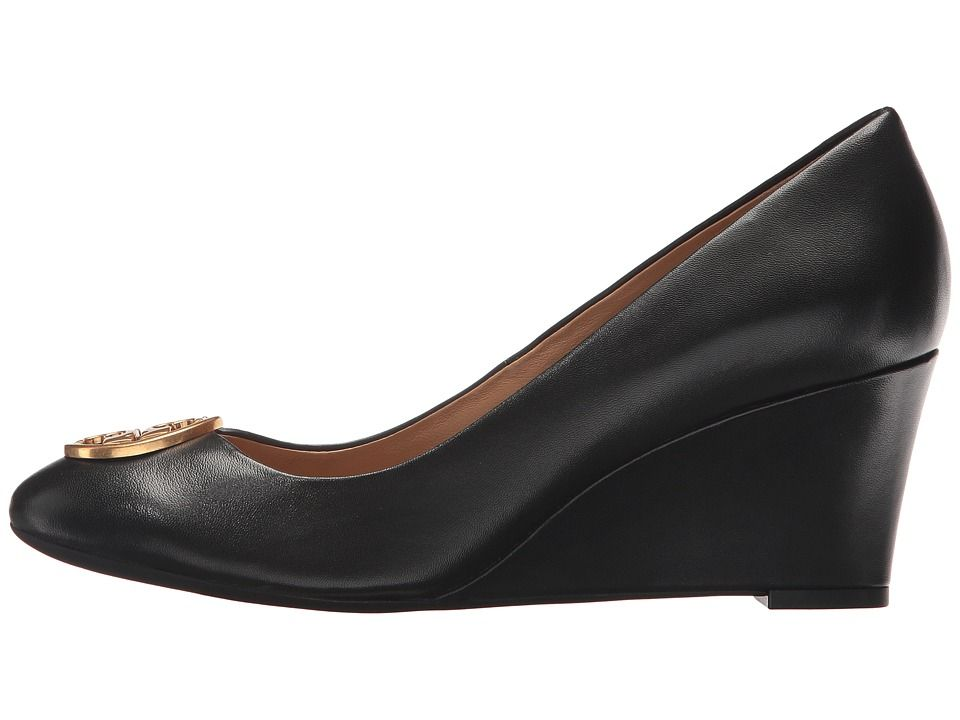 ff17afebc21 Tory Burch Chelsea 65mm Wedge Women s Shoes Perfect Black
