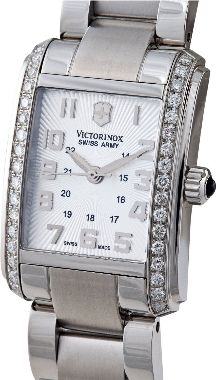 Victorinox swiss army women 39 s 241186 vivante diamond watch watches swiss army diamonds for Woman diamond watches