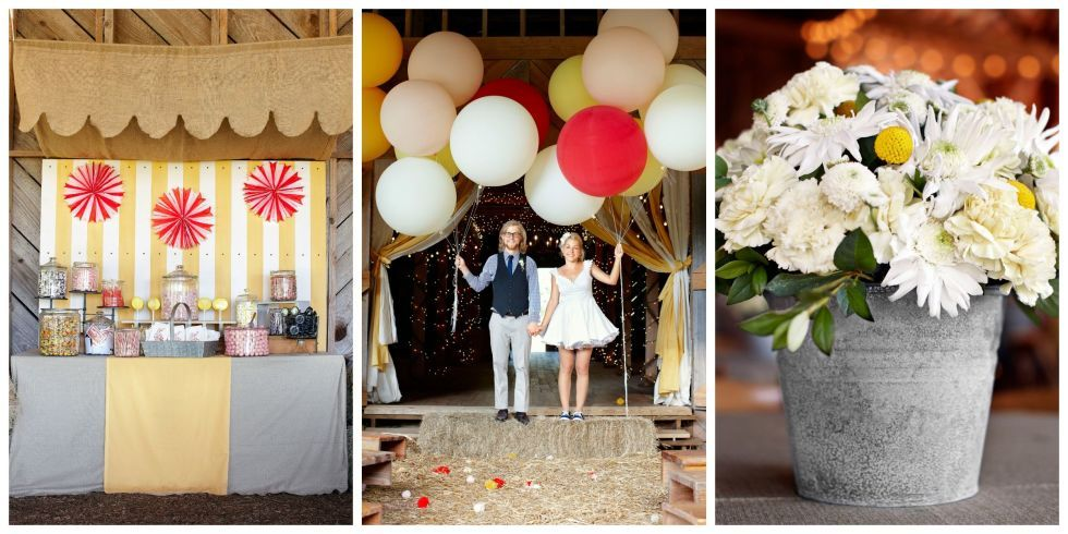 10 Adorable Ideas For A Carnival Themed Wedding Wedding Themes And