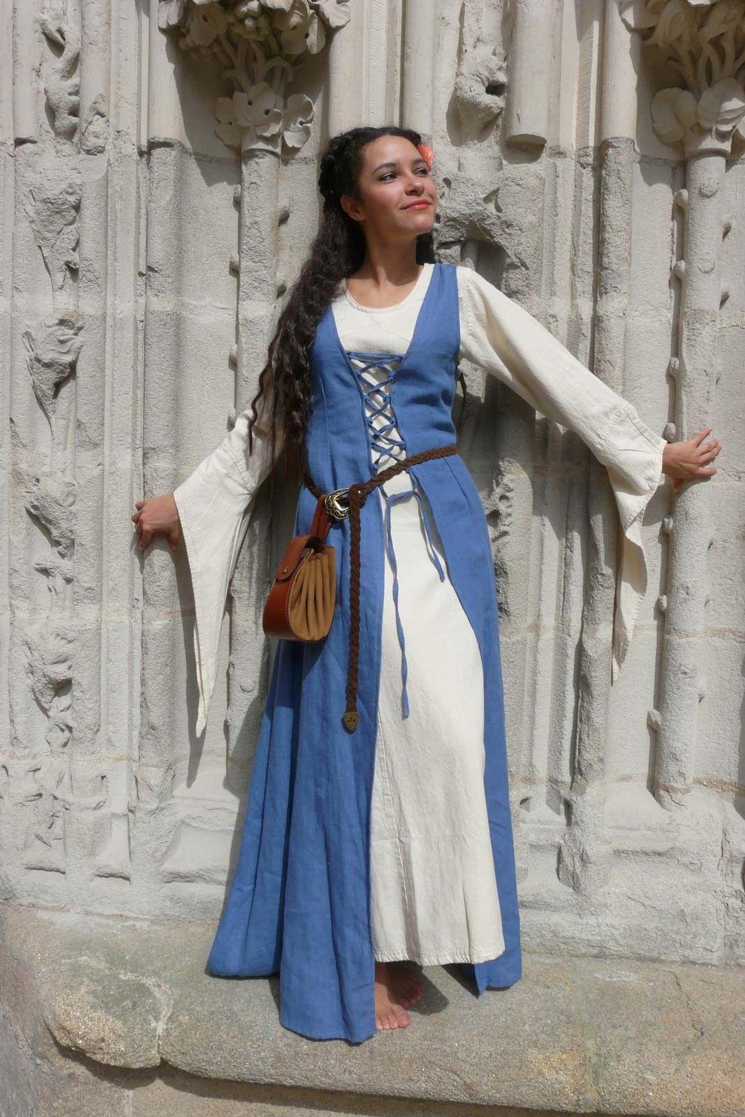 Irin Medieval Vêtement Robe Médiéval Moyen De Dessous Age Ropa wrXHw8