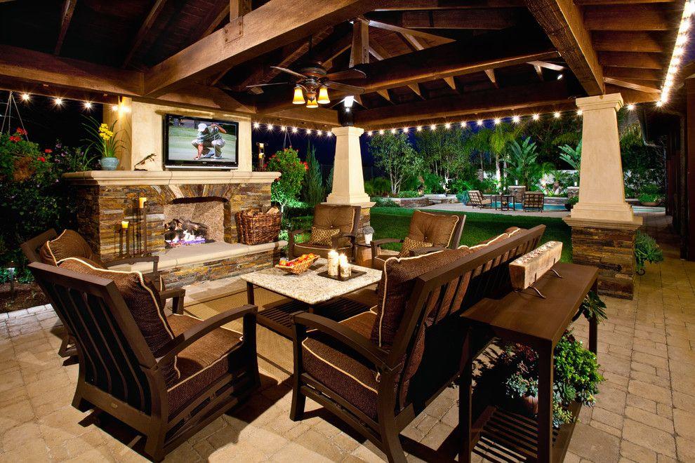 Enclosed patio decorating ideas patio mediterranean with