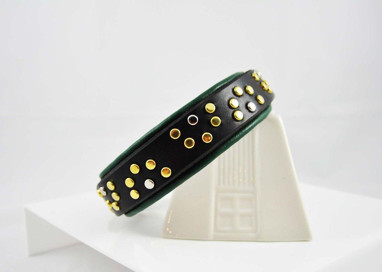 Little Sam Limited Edition Stud and Jewel Dog Collar