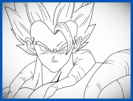 Vegeta Para Colorear Para Pin Para A On Para Dragon Ball Z: Imagenes De Dragon Ball Z Para Dibujar Faciles