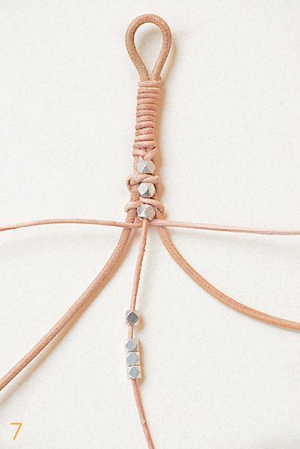 leather bracelet tutorial by lebenslustiger lederarmband selbermachen sch 246 ne dinge armband